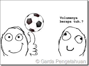 rumus luas dan volume bola