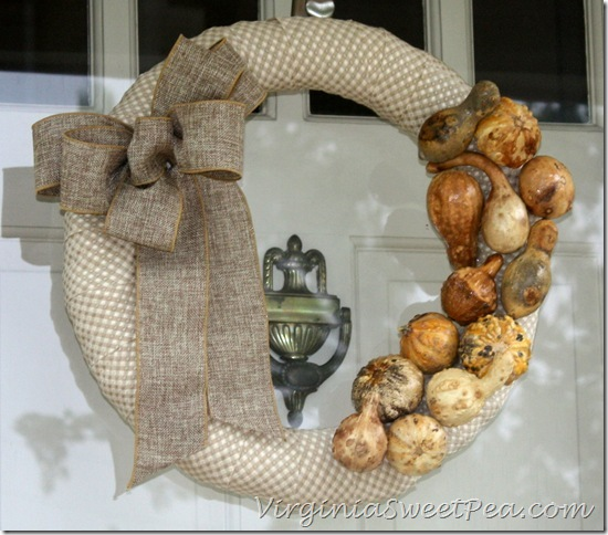 Preserved Gourd Wreath1