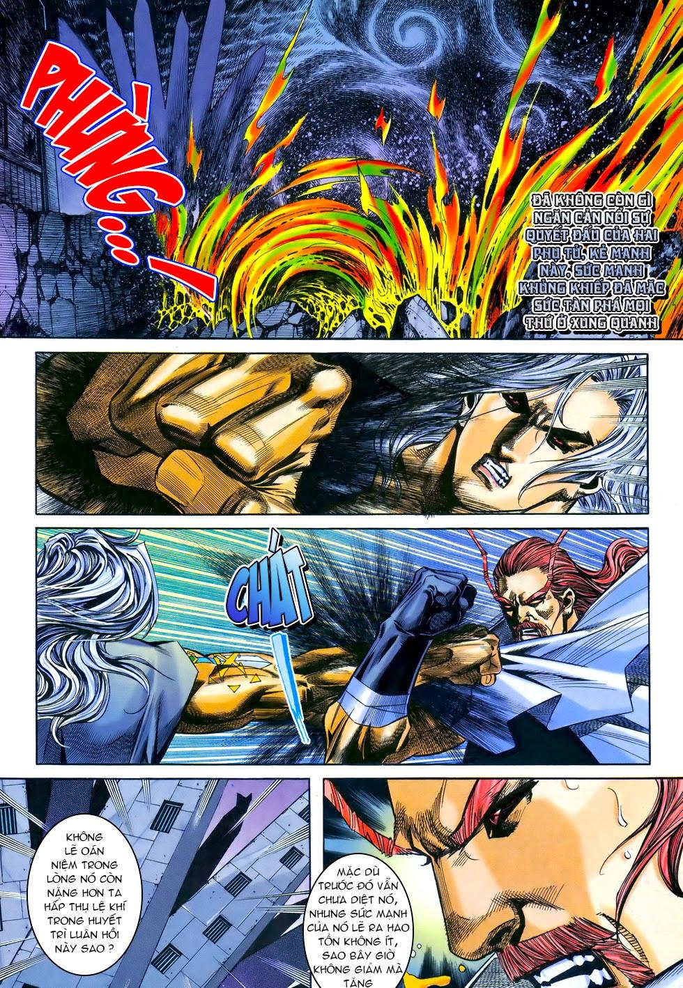 X Bạo Tộc chap 69 - Trang 10