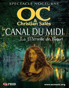 Canal du midi espectacle nocturne