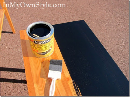 Black Stain For Painting Furniture