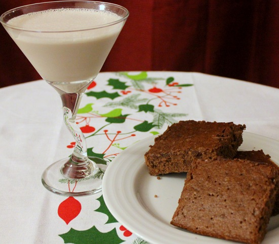 brownie-drink-combination