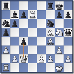 White played 17.Rxd7!