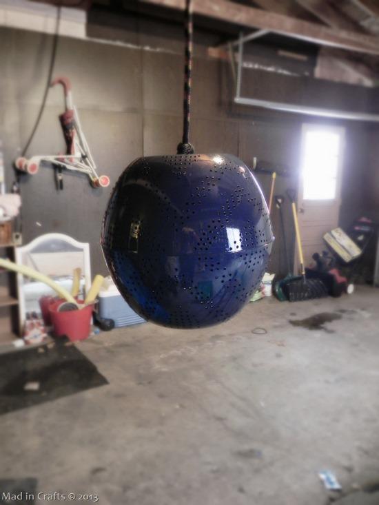 Painted Pendant Lamp
