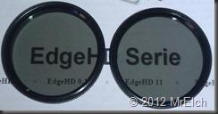 Die beiden einzelnen Filter