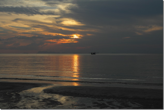 Sunset at Haad Salad Beach, Koh Phangan
