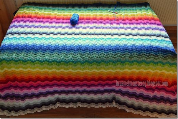 Ripple Blanket - Zwischenstand (3)