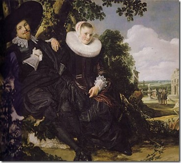 Portrait of a Couple, Probably Isaac Abrahamsz Massa and Beatrix van der Laen, Frans Hals, c. 1622