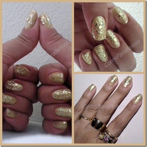 Cores para beleza - gliter dourado1