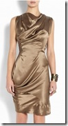Vivienne Westwood Anglomania Metallic Dress