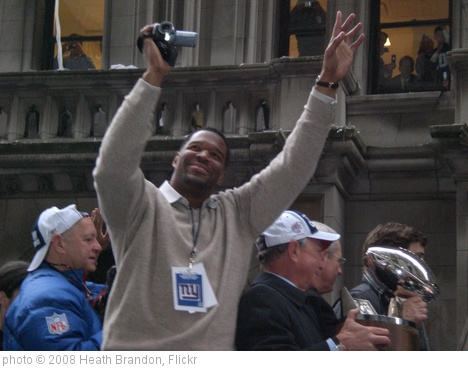 'Michael Strahan Wavin' Hands In The Air...' photo (c) 2008, Heath Brandon - license: http://creativecommons.org/licenses/by-sa/2.0/