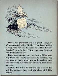 The Ghost of Dibble Hollow Back Cover