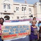 Ato público em defesa aos Direitos Humanos
