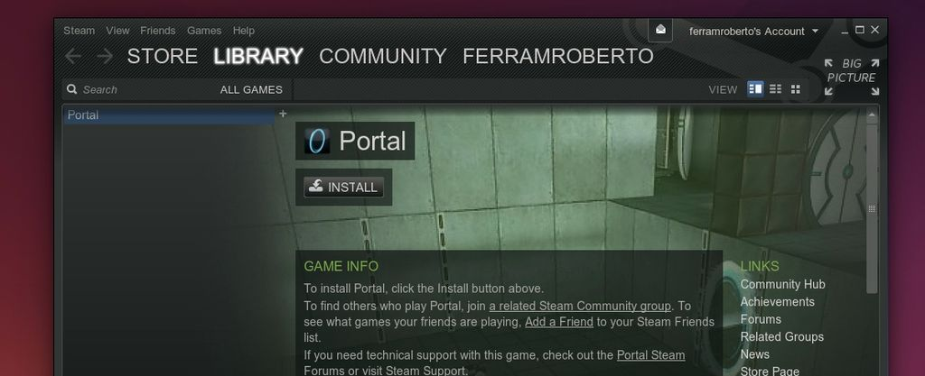 Steam in Ubuntu 14.04