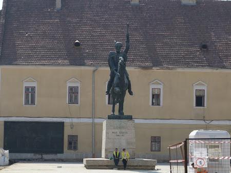 Eroi Romania: statuia lui Mihai Viteazu