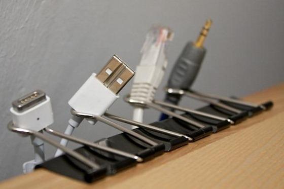Computer Desk Cable Management Clips