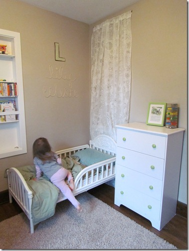 Toddler Bed Curtain Headboard To Hide The Elf Door White House