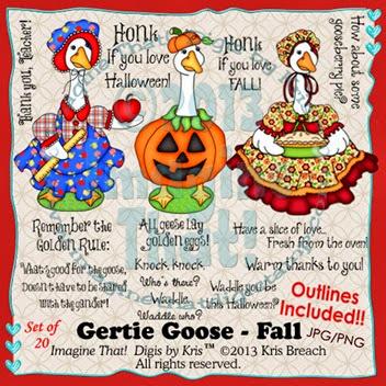 PROMO Gertie Goose Fall