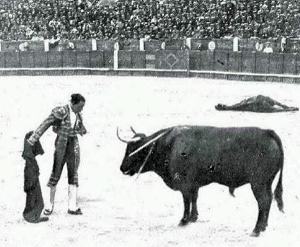 1919-07-06 (p. 09 MG) Joselito temerario adorno toro 2º (o) - copia