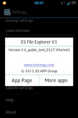 es file manager v3.0.7.0 apk