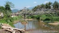 Brücken in Vang Vieng