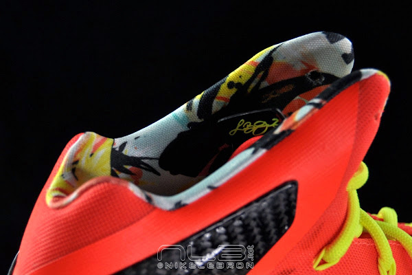 The Showcase Nike LeBron X PS Elite Crimson amp Volt