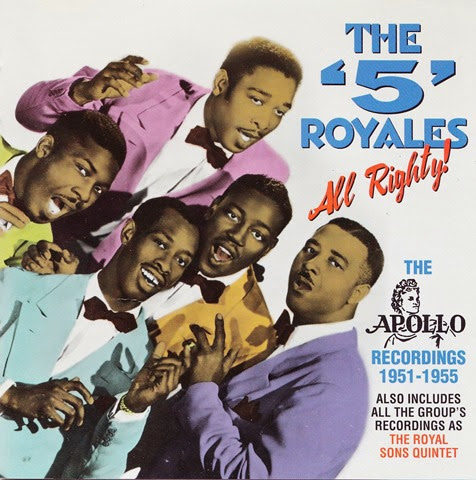 5 Royales - All Righty! The Apollo Recordings 1951-1955