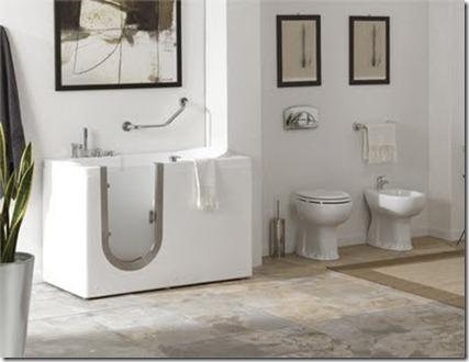 Baños Modernos con Tina3