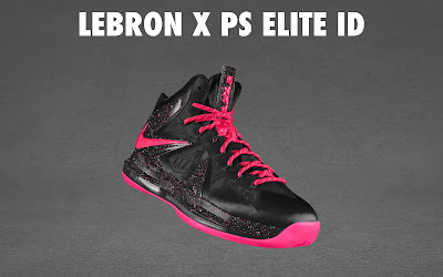 nike lebron 10 ps elite id options preview 1 08 NIKE LEBRON X PS ELITE Coming to Nike iD on April 23rd