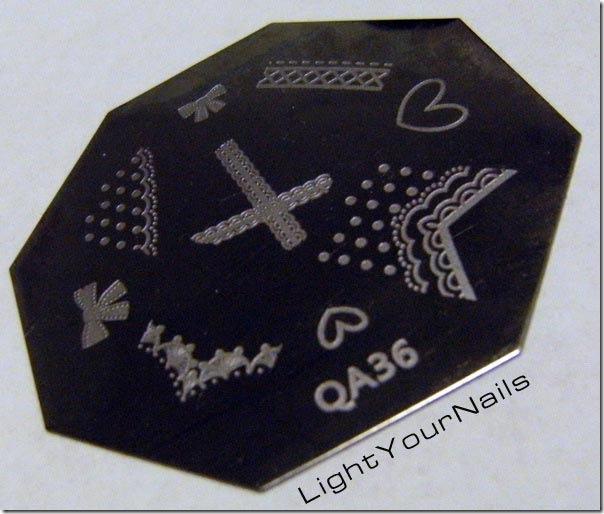 Born Pretty Store stamping plate QA36