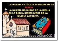 iglesia y luego biblia