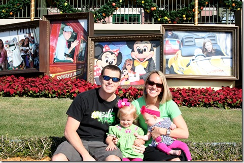 Family Picture - Magic Kingdom Enterance