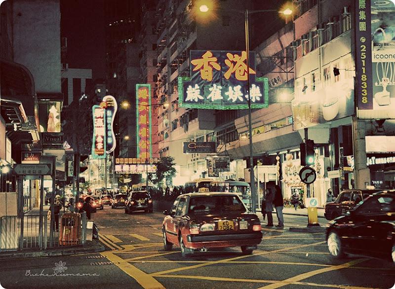 Seventies---HK-street