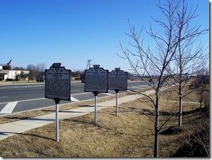 Fredericksburg Campaign marker N-4 is the middle marker.
