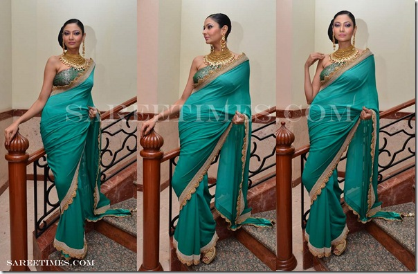 Sruthi_Sancheti_Green_Saree