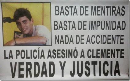 Clemente Arona - Justicia