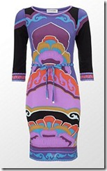 Harrods colour print dress