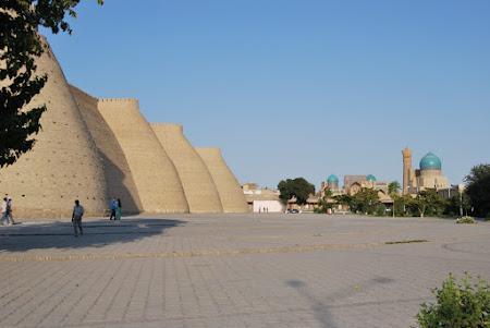Obiective turistice Uzbekistan: Bukhara - Ark