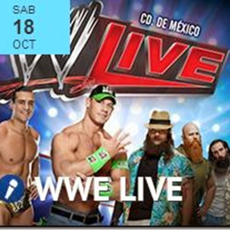 WWE Live en Mexico DF 2014