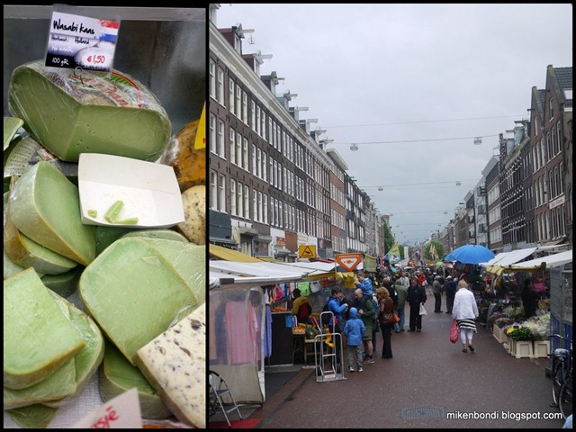 Wasabi cheese @ Albert Cuyp market
