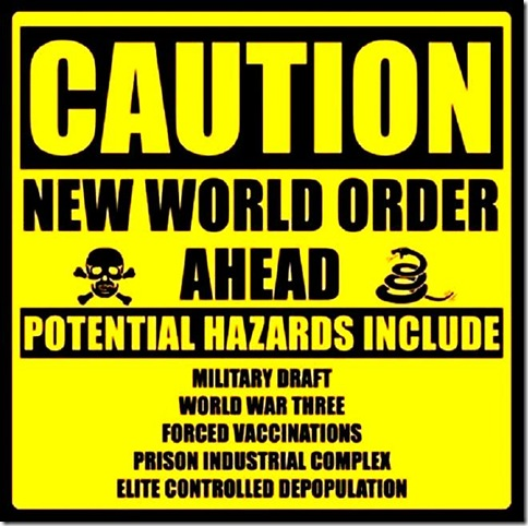 Caution Sign - NWO
