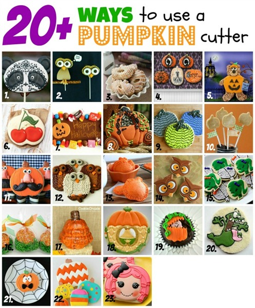 Pumpkin Collage Numbered