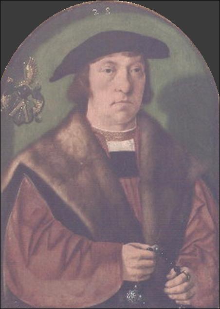 Bartholomeus Bruyn,Le pèlerin