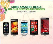 Maxis Smartphone Promotion 2013 Branded Shopping Save Money EverydayOnSales