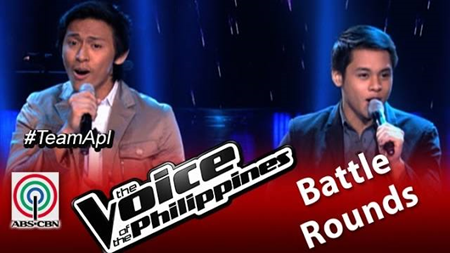 Mark Avila vs Mark Cando - The Voice PH 2 Battle Rounds