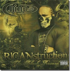 CHINO XL - RICANstruction 'The Black Rosary' (Front)