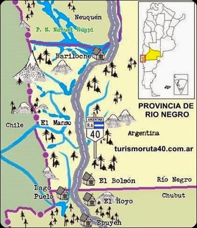 ruta 40 rio negro