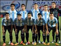 Argentina vs Canadá, Sub 17