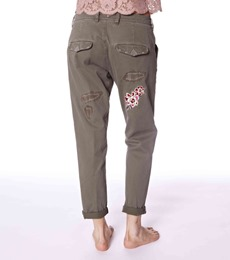 #587 Peace army pants 1