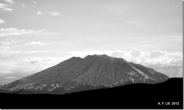 Mt. St. Helens from Forest Road 25.  July 24, 2011.  Photo of the Day, May 18, 2012.  32nd Anneversary of the May 18th Eruption.